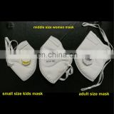 Small Child dust mask, Kids respirator NIOSH N95, CE FFP2 approved