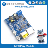 MP3 player with music chip Programmable IC Sound chip