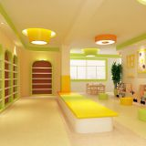 Safety Rounded Corner Classroom Furniture for Kindergarten