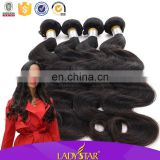 How to start selling brazilian hair, Lady star hair products support you buying brazilian hair in china