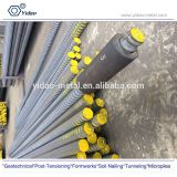 post tensioning bar / high strength thread steel bar/ rebar