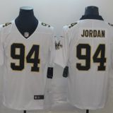 New Orleans Saints #94 Jordan Black/White Jersey