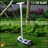 8inch two wheel smart balance electric scooter with handlebar