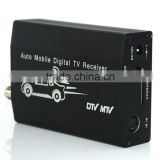 One Seg Auto Mobile TV Tuner MPEG Car Digital TV Receive Box ISDB-T Brasil , Japan , Chile ISDB-T TV Tuner Receiver Box