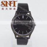 New arrival leather watch simple dial watch