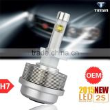 Tinsin new products all in one dc 12 v -24v 3600lm citroen c4 led headlight with good heat dissipation