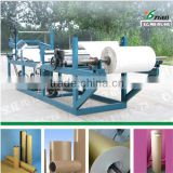 Machine coating paraffin wax to roll paper