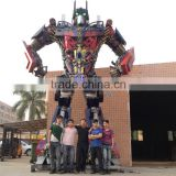 9 meters high Optimus prime , Large Modern Famous Arts Iron Sculpture for Outdoor decoration