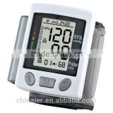 EA-BP61W Factory supply mini digital electronic wrist watch blood pressure monitor with LCD display for home use