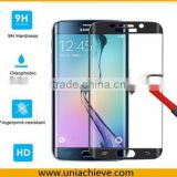 Tempered Glass for Samsung Galaxy S6 Edge plus, Protect Screen from Scratches & Drops, 99.99% Clarity & Touchscreen Accuracy