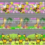 bee giraffe animal cartoon design transfer film for child water bottle