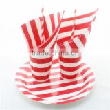 Supplier Of Disposable Tableware Of Straw Plate Cup Napkin                                                                         Quality Choice