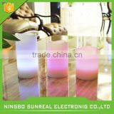 LED White Wax Floating Candle /Real wax flameless LED water floating candle