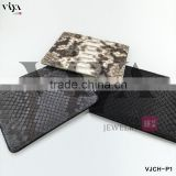wholesale leather document folder case,credit card business card python skin holder men wallet