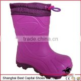 kids cute rain boot, kids pvc rain boots rubber boots/ waterproof steel toe touch work boot