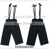 black viscose fashion suspenders for girls and women