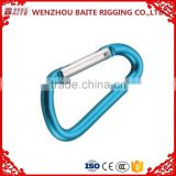 COLORED ALUMINUM SNAP HOOK D TYPE BT--247A/Decoration Accesory