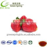 Natural strawberry fruit extract powder,GMP Certificate strawberry extract powder 4:1 10:1