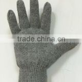 212 GREY 600 GRAMS 10 KNITTING COTTON SAFETY WORKING GLOVE
