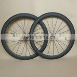 carbon fixed gear wheels 50mm bicycle wheelset track use 700c 20h front 24h rear