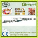 Corn flakes/breakfast cereals processing equipment / breakfast cereal manufacturing line