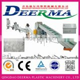 PET bottle recycling machine line/PET bottle cleaning machine line/PET bottle crushing washing drying recycling line