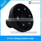 Black silica collapsible hair dryer diffuser