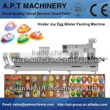 Automatic Kinder Joy Eggs Chocolate Production Line/Kinder JOY SURPRISE Toy Chocolate Cookies EGG GIRL PINK BOY BLUE