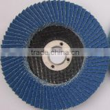 high quality Abrasive Flap Disc of Zirconium polishing stainless steel, metal,wood, stone