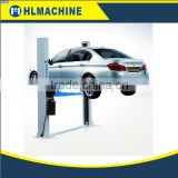 Two Post auto repair tools double hydraulic cylinder car lift
