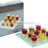 2012 hot selling Glass Drinking Chess with color box