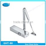 GHT-80 High quality Hydraulic Aluminium Automatic Door Closer, two control fire rated door closer