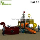 Wonderful!!! Pirate ship outdoor kids playground                                                                         Quality Choice