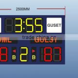 led digital advertising board led stadium perimeter billboard display led cricket digital scoreboard                                                                         Quality Choice