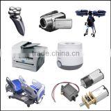mini DC geared motor with high efficiency and micro structure for robots ,gearbox and household appliances