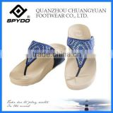 patent wedge heel fashion women casual sandal shoes