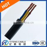 Teflon Fluoroplastics Insulated and Silicon Rubber Sheathed Power Cable with High Temperature and Heat Resistance