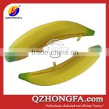 Banana design silicone cheap coin purse