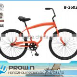 mens beach cruiser bike/adult beach cruiser bike/standard beach cruiser chopper bike (B-26025)