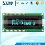"OLED 2.26"" 16x2 IPS free viewing angle Optional 6800/8080/SPI/I2C interface OLED Screen Blue Color Character OLED Display"