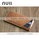High quality men's genuine leather clutch wallet phone case                                                                         Quality Choice