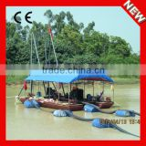 Top quality Factory Direct Diesel Separable small dredger machine in river