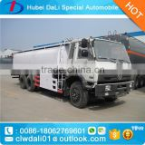 20tons oil tanker truck with tank fuel tank with dispensing nozzle