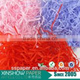 solid color high-grade packing material shredded paper for sale
