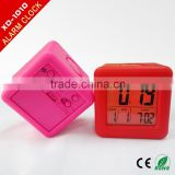 led alarm clock home clock factory LED Smart Clock with backlight/silicone led alarm clock
