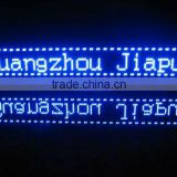 advertising flexible led hang tag display sign board price made in China