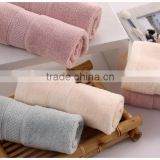 pure cotton plain coloured squares face towel small towel SPA towel water absorption Hot compress towel