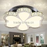 Top Quality Flower Ceiling Lamp Stainless Steel 110V Cheap Crystal Ceiling Lights