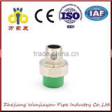 green color Hot sale PPR pipe fitting male union