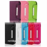 New 2 in 1 Separable Wallet Style Magnetic Flip PU Leather Case with Lanyard for samsung i9300